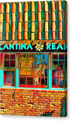 Canvas Print featuring the photograph Cantina Real Gone by Michael Hope