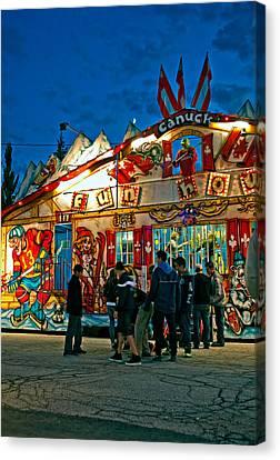 Canuck Fun House Canvas Print by Steve Harrington