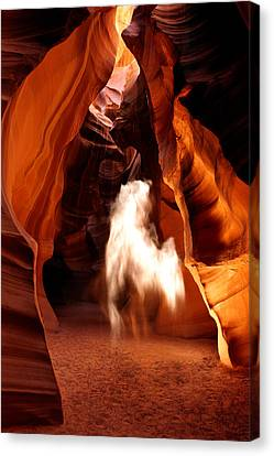 Canyon Apparition Canvas Print