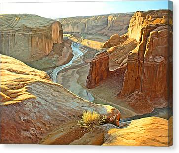 Canyon De Chelly Canvas Print by Paul Krapf