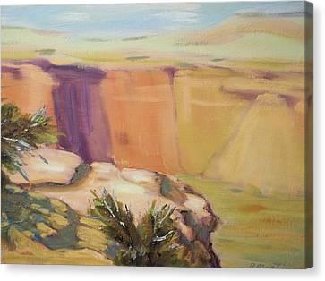 Canyon De Chelly Canvas Print by Robert Martin