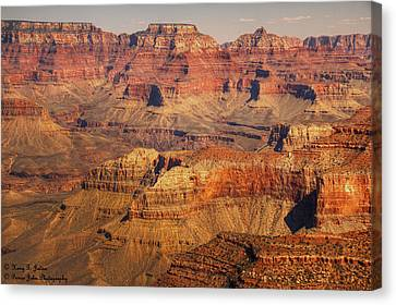Canyon Grandeur 2 Canvas Print