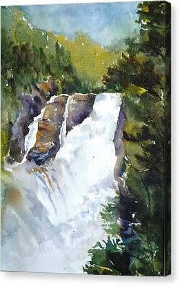 Canyon St. Anne -1 Canvas Print