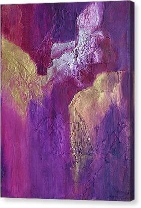 Canvas Print featuring the painting Canyonlands by Nancy Jolley