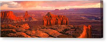 Canyonlands National Park Ut Usa Canvas Print