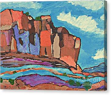Canyon's  Chorus Canvas Print