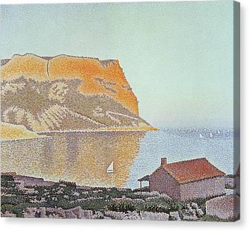 Cap Canaille Canvas Print by Paul Signac