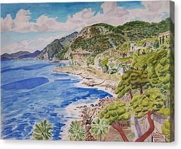 Cap D'ail For Prince Abkhazi Canvas Print