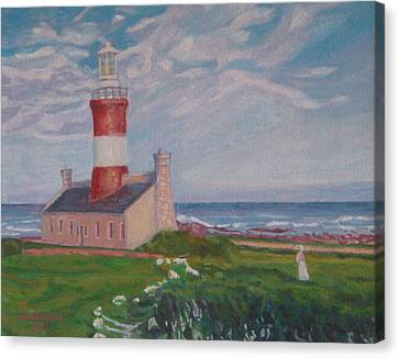 Cape Aghulas Lighthouse Canvas Print
