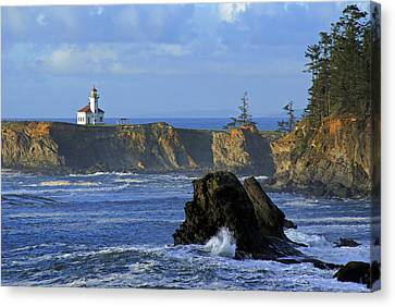 Cape Arago Lighthouse Canvas Print