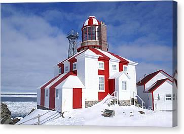 Cape Bonavista Lighthouse Canvas Print