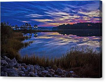 Cape Charles Sunrise Canvas Print