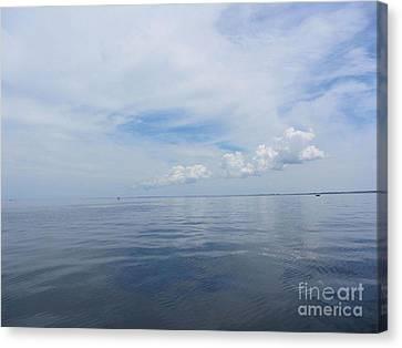 Cape Cod Bay Canvas Print by Lisa  Marie Germaine