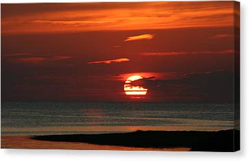 Cape Cod Bay Sunset Canvas Print