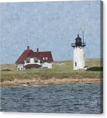 Cape Cod Light House Canvas Print by Tammy Bullard