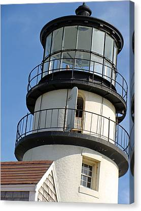 Canvas Print featuring the photograph Cape Cod Lighthouse by Ira Shander