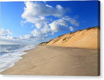 Cape Cod Ocean Beach Canvas Print by John Burk