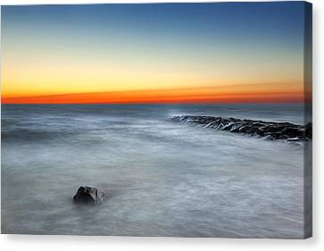 Cape Cod Sunrise Canvas Print by Bill Wakeley