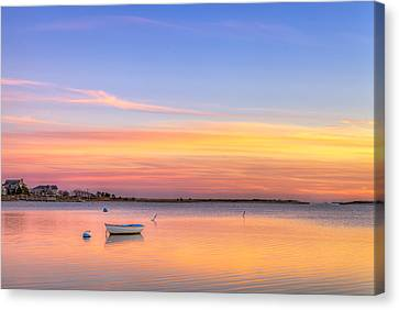 Cape Cod Sunset Canvas Print by Michael Petrizzo