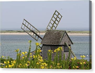 Cape Cod Windmill Canvas Print by Juergen Roth