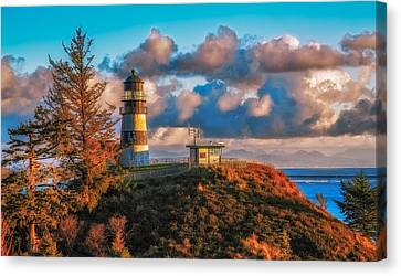 Cape Disappointment Light House Canvas Print by James Heckt