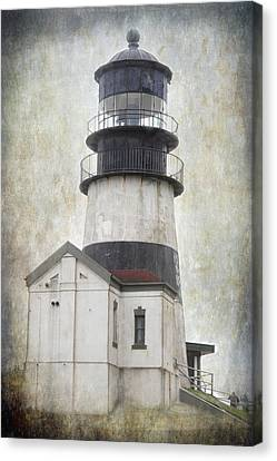 Cape Disappointment Lighthouse Canvas Print by Angie Vogel