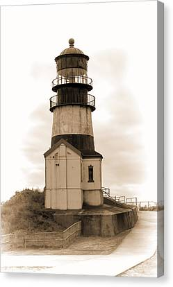 Cape Disappointment Lighthouse Canvas Print by Cathy Anderson