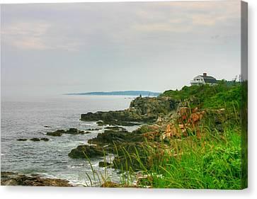 Cape Elizabeth Maine Canvas Print by Denyse Duhaime