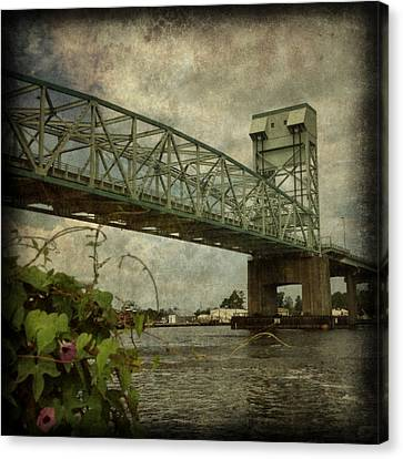 Cape Fear Morning Glory Canvas Print by Dorian Hill
