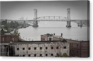 Cape Fear River - Photography By Jo Ann Tomaselli Canvas Print