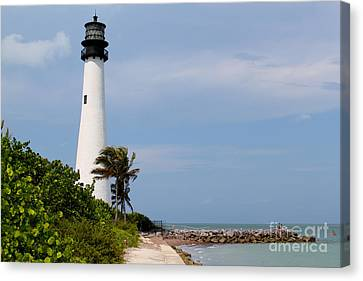 Cape Florida Beach Canvas Print