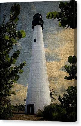 Cape Florida Lighthouse 1 Canvas Print