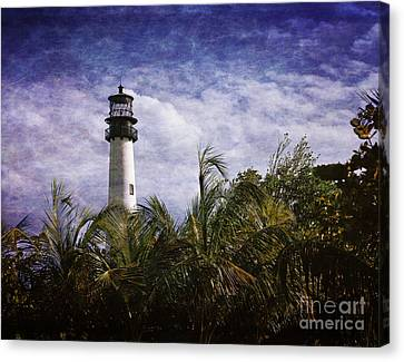 Cape Florida  Lighthouse  Canvas Print by Heinz G Mielke