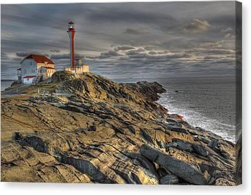 Lightstations Canvas Print - Cape Forchu Lightstation Nova Scotia by Scott Leslie