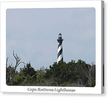 Cape Hatteras Lighthouse 2014 15 Canvas Print