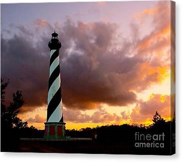 Cape Hatteras Sunset Canvas Print