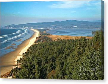 Cape Lookout Coastal View Canvas Print by Adam Jewell