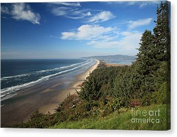 Cape Lookout Oregon Canvas Print by Adam Jewell