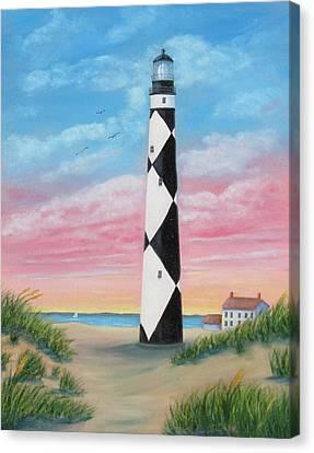 Cape Lookout Sunset Canvas Print