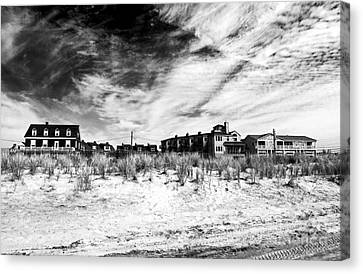 Cape May Beach Houses Canvas Print