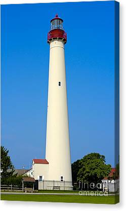 Cape May Lighthouse Canvas Print by Anthony Sacco