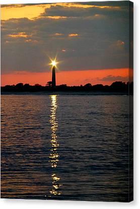Cape May Lighthouse Canvas Print by Glenn McCurdy