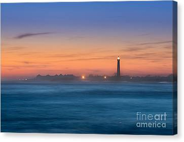 Cape May Lighthouse Sunset Canvas Print
