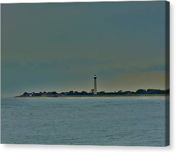 Canvas Print featuring the photograph Cape May Point by Ed Sweeney