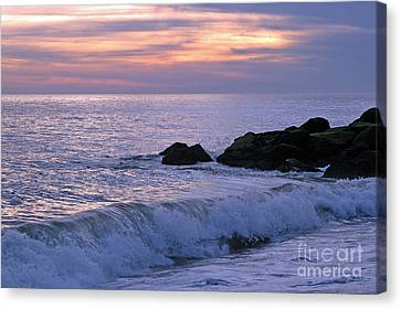 Canvas Print featuring the photograph Cape May Sunset by Olivia Hardwicke