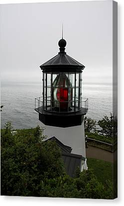 Cape Meares Light Canvas Print by Christiane Schulze Art And Photography