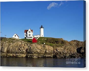 Nubble Lighthouse Canvas Print - Cape Neddick Light by John Greim