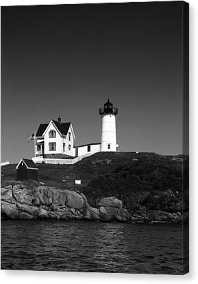Cape Neddick Light Station Canvas Print by Mountain Dreams
