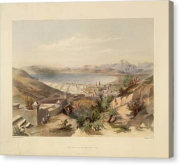 Cape Town Canvas Print by British Library