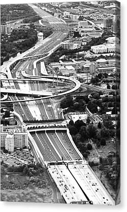 Capital Beltway Canvas Print by Nicola Nobile